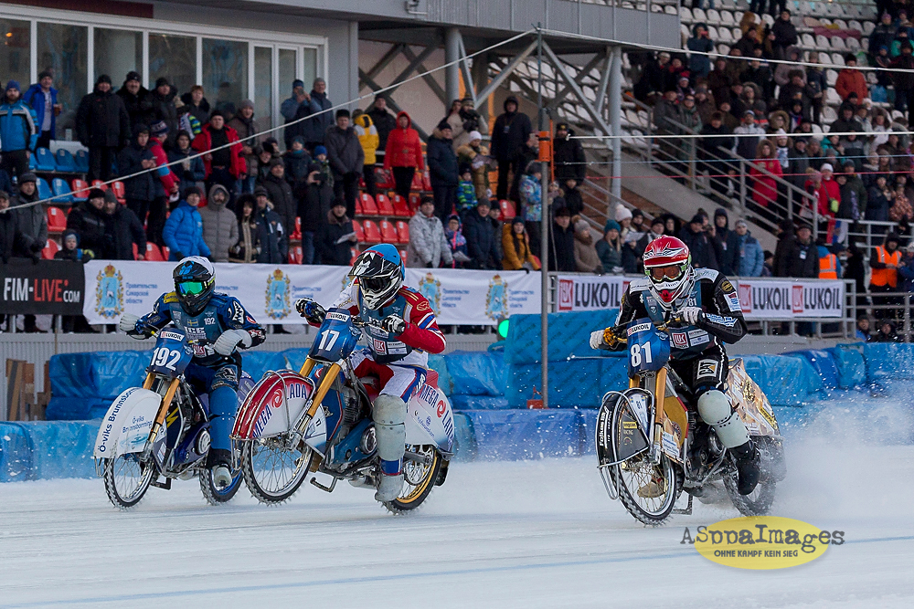 Lukoil FIM ICE Speedway Gladiators 2018 in Togliatti, Russia, Final 2 – Day 1/ Aleksandr Seregin / ASppaImages.COM
