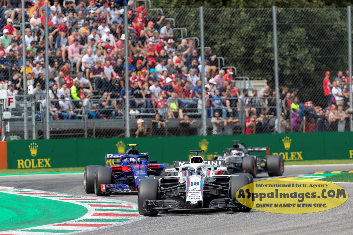 #35 Sergey Sirotkin & #18 Lance Stroll | Martini Williams F1 Team 2018 in Monza| Italy GP| Photographer Aleksandr B. Seregin| ASppaImages.COM