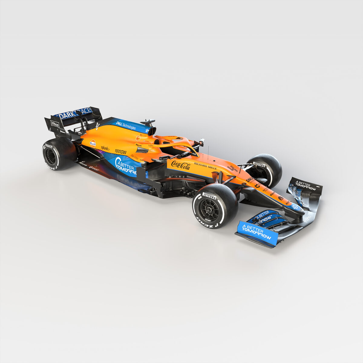 2021 MCL35M front three quarter by .